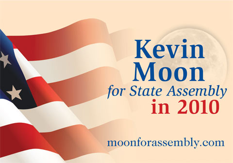 Kevin Moon for State Assembly poster