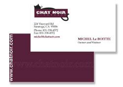 Chat Noir Business Card